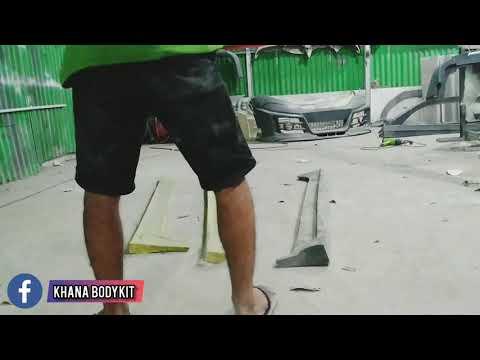 PENGUJIAN BODYKIT BERBAHAN DURAFLEX !! APAKAH HANCUR??!! - BODYKIT DURAFLEX INDONESIA