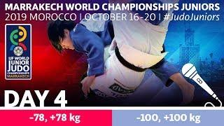 World Judo Championships Juniors 2019 - Day 4