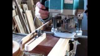 Mortise Jig For Hand Held Router