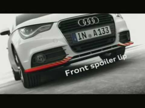 audi a1 sport and design accessories video youtube. Black Bedroom Furniture Sets. Home Design Ideas