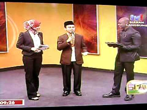 Fitri Haris Live tv1 Suara Azan