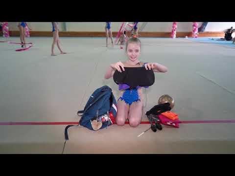 Что в сумке гимнастки?