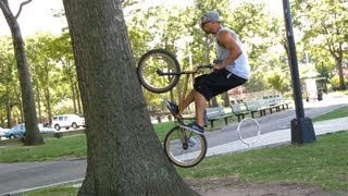 How to Do a Fakie Wall Ride | BMX Bike Tricks
