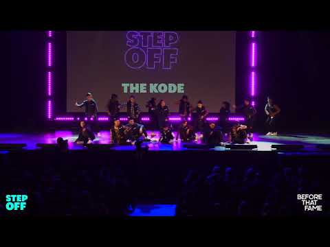 [3rd Place] The Kode (WIDE VIEW) | Step Off 2018 | Open Division