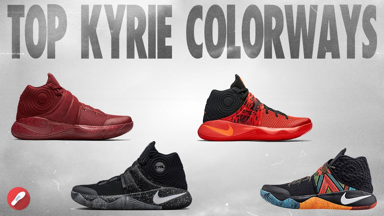 pretty nice f141b 3ff0d Top 5 Nike Kyrie 2 Colorways!