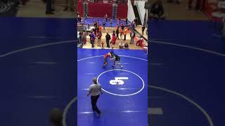 Freak wrestling accident