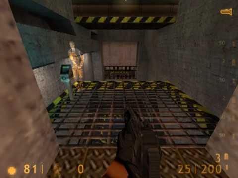 Half-Life: Hazard Course speedrun in 2:42