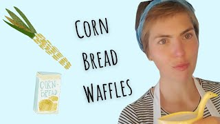"""Corn Bread Waffles and """"Stormy Weather"""" by Harold Arlen and Ted Koehler"""