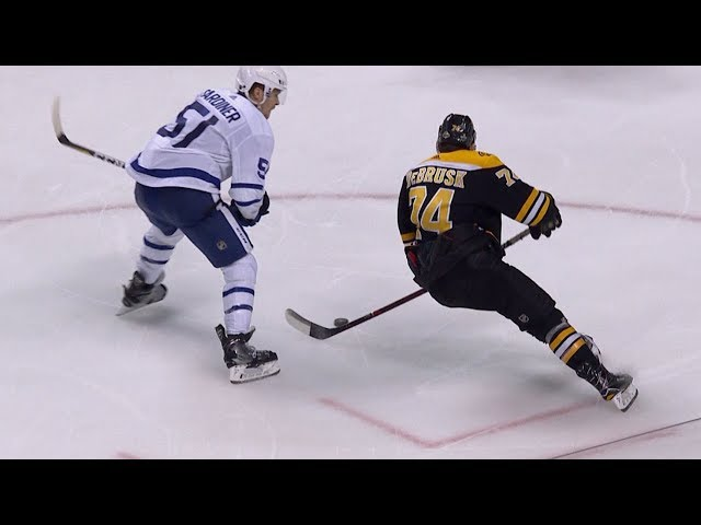 Jake DeBrusk powers his way for go-ahead goal in Game 7