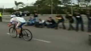 TVes - Llegada de la etapa 10 en la Vuelta al Táchira 2014