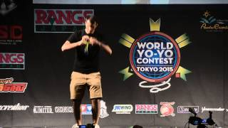 C3yoyodesign Presents: WYYC 2015 1A Semi Final Janos Karancz