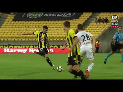 Wellington Phoenix VS Western Sydney Wanderers Round 16 2017/18