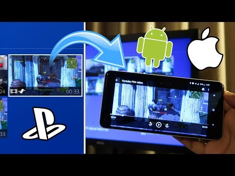 How to SEND PS4 VIDEOS to your PHONE! (WORKS WITH ANDROID AND iOS) (NO USB) (EASY METHOD) 2018