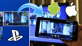 How to SEND PS4 VIDEOS to your PHONE! (WORKS WITH ANDROID AND iOS) (NO USB) (EASY METHOD)