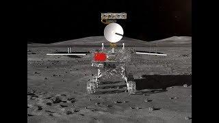 Где на самом деле находится китайский луноход. Кадры движения лунохода Юйту-2 по темной стороне Луны