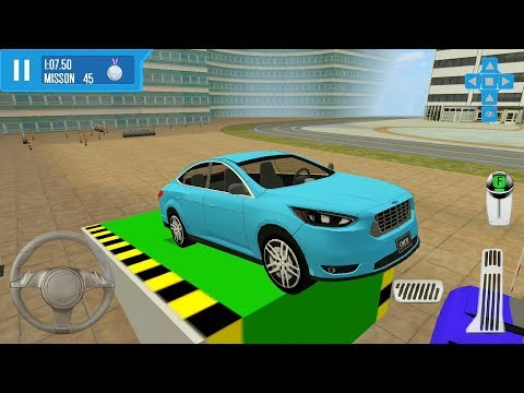 City Driver: Roof Parking Challenge - #7 Family Sedan | Car Simulator Games - Android IOS GamePlay
