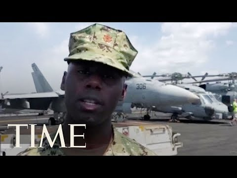 US Navy Officer: USS Carl Vinson Is Sailing 'Wherever International Law Allows' | TIME