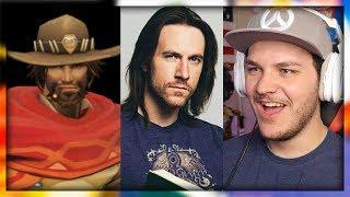 Overwatch Voice Actors In Real Life - Reaction