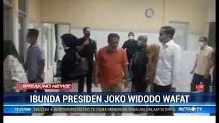 Presiden Joko Widodo menyebut almarhumah ibundanya Sujiatmi Notomiharjo meninggal karena penyakit ka.