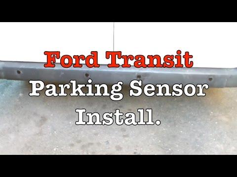 Ford transit custom rear parking sensors