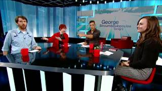 The Panel: Georgina Reilly, Fraser Young, Luba Goy on Strombo (10/14/13)
