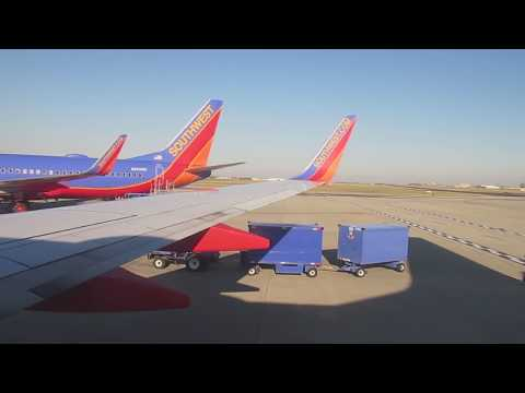 Southwest Airlines Boeing 737-700 takeoff at Indianapolis International Airport  to New York