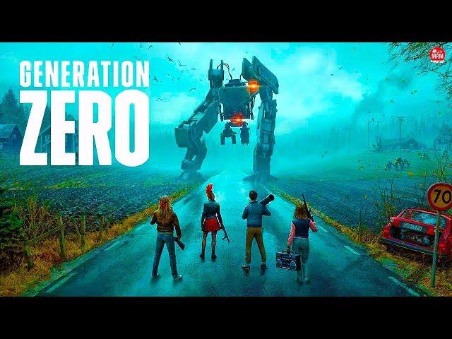 Generation Zero Beta! - Black Mirror, Maquinas e Sobrevivência!!
