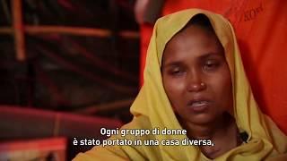Il Video, intervista, realizzato da Medici Senza Frontiere ad una donna rifugiata Rohingya