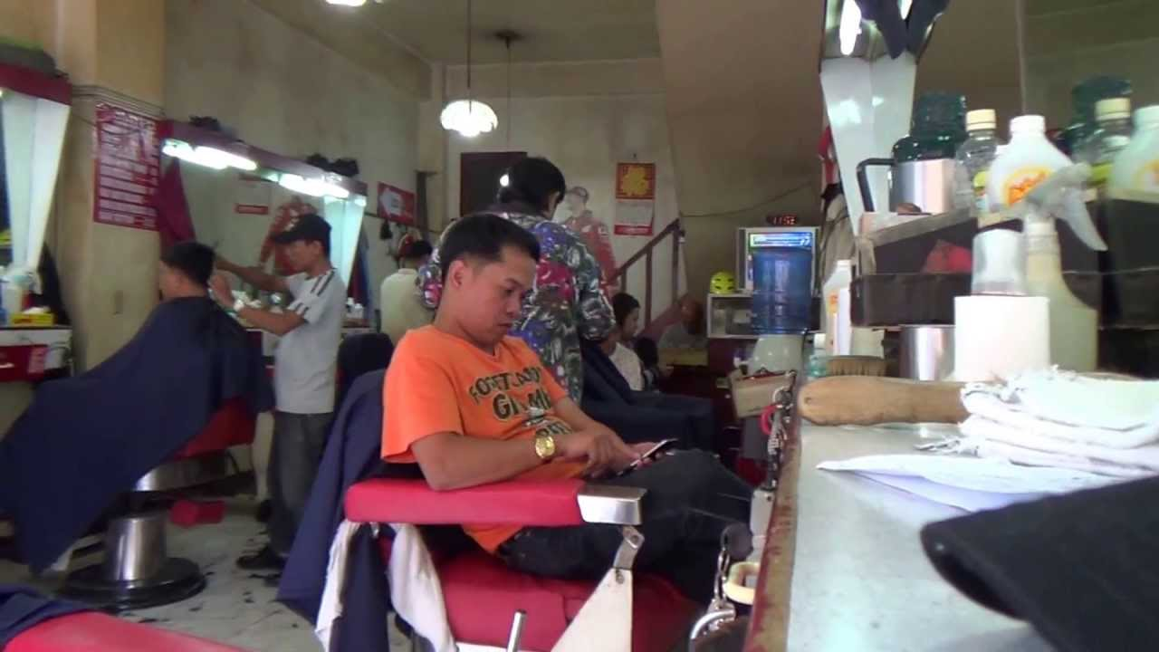 Old School Barber Shop  You can still get a straight