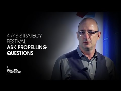 4A's Strategy Festival 2014: 'Ask Propelling Questions'