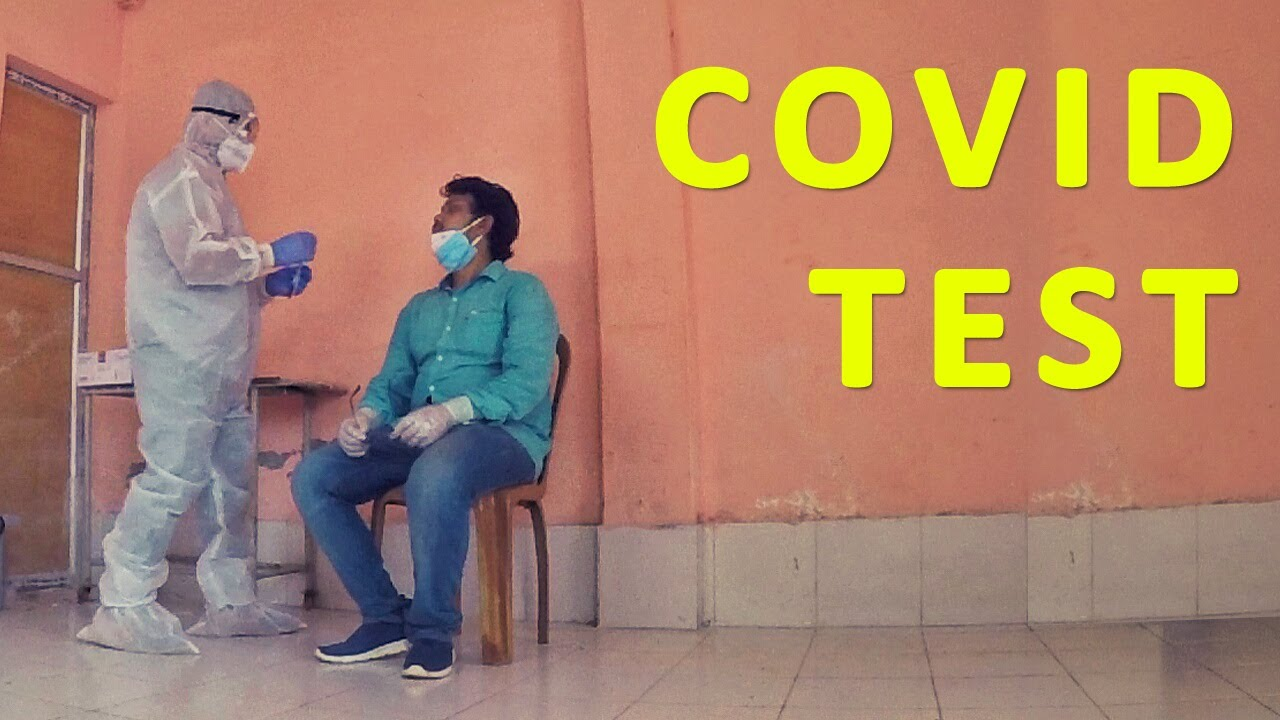 COVID Test Done | Swab Test Procedure | Tripura Vlog