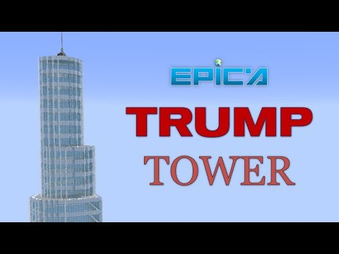 MINECRAFT SKYSCRAPER BUILD WITH INDYLUKES (Based on Trump International Hotel & Tower, Chicago)