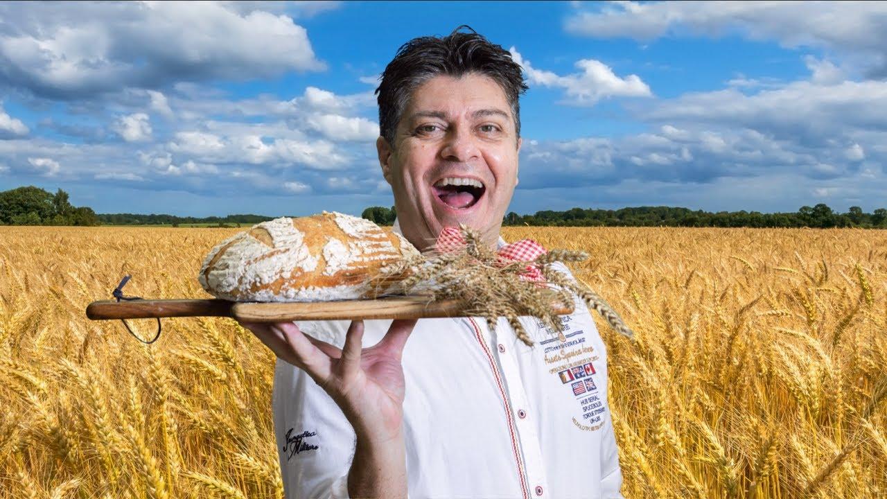 """Download Jak udělat """"věčný"""" kvásek a Postup na bombastický pšenično žitný kváskový chléb"""