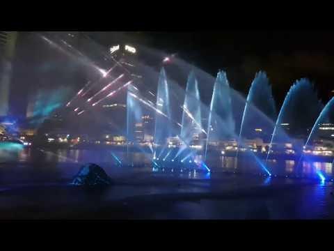 Multimedia  Show(Musical Fountain show) - i Light Singapore 2019 -싱가폴  분수쇼