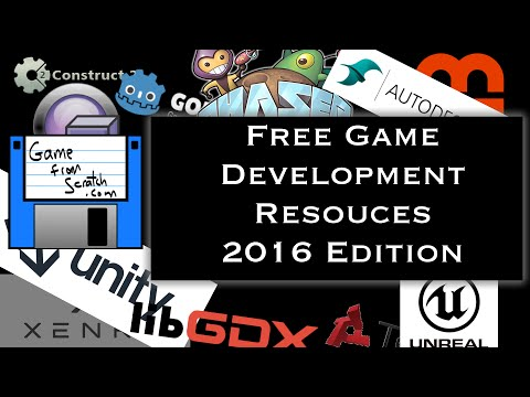 Free Game Development Resources 2016 Edition