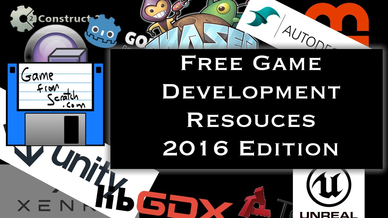 Guide To Free Game Development 2016 Edition