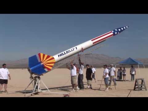 Hillbilly - LDRS 26 - High Power Rocket Launch