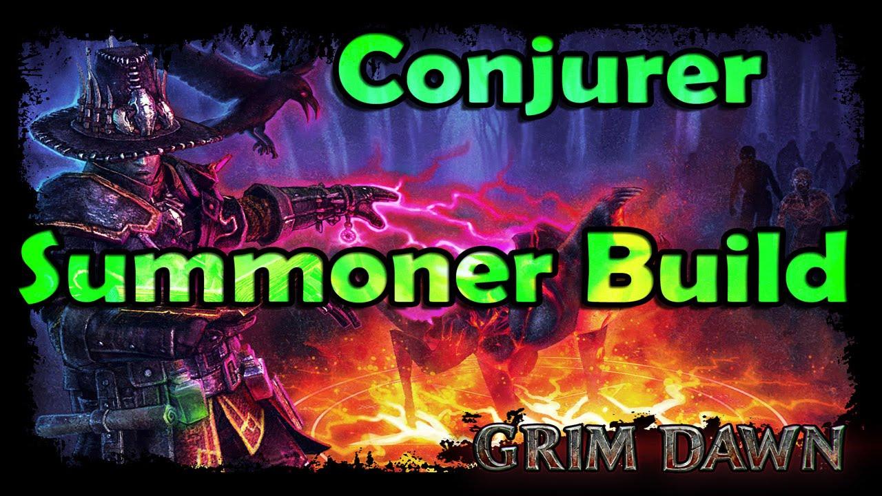 Conjurer Summoner Build – Grim Dawn – Tutorial Build Guide