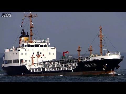 TOKIWA ときわ丸 Oil products tanker プロダクトタンカー 上野トランステック 関門海峡 2015-MAR