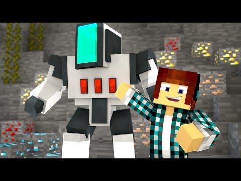 Minecraft : FAÇA UM ROBÔ NO MINECRAFT SEM MODS !!