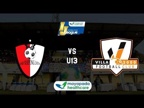 Serpong Jaya vs Villa 2000 [Indonesia Junior Mayapada League 2019] [U13] 13-1-2019