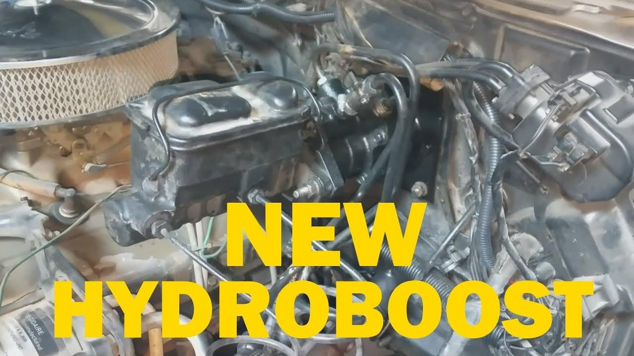 82 Chevy K5 Update / New Hydroboost