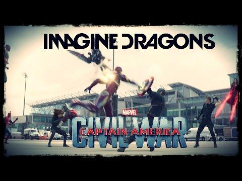 Captain America: Civil War - Warriors Imagine Dragons [SPOILER] HD1080p