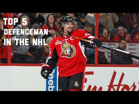 Top 5 Defenceman in the NHL
