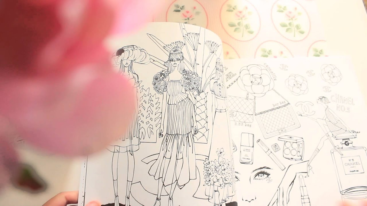 THE BIRTH OF FASHION Coloring Book