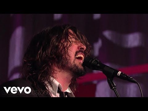 Foo Fighters  Best Of You  on Letterman