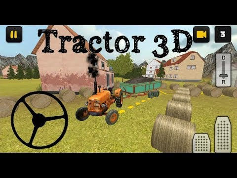 Classic Tractor 3D Sand Transport Simulator 🌟 New Android Game 2018
