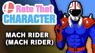 Mach Rider - Rate That Character