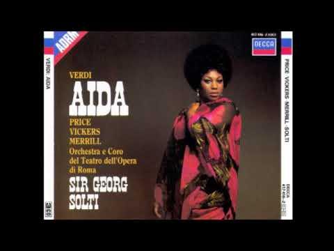 Aida; Price, Vickers, Gorr, Merrill & Solti; 1962