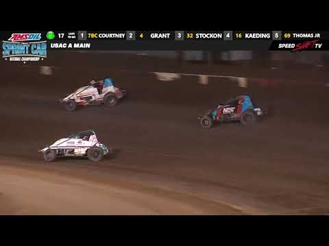 USAC Sprint Feature Highlights | Perris Auto Speedway 11.9.18